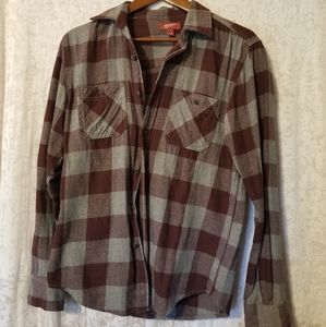 Maroon & Gray Flannel